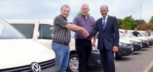 Neue Caddy für Taxi Waldmann.