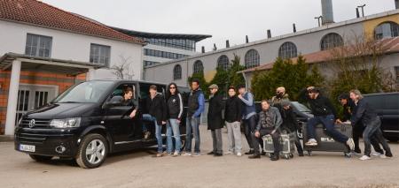 Multivan Highline auf Tour mit den Söhnen Mannheims.