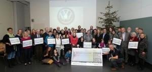 Belegschaft spendet 35.000 Euro.