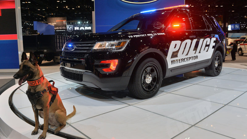 2016 Ford Police Interceptor Utility shows up for duty in Chicago