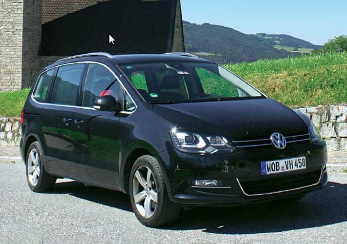VW Sharan – test αντοχής