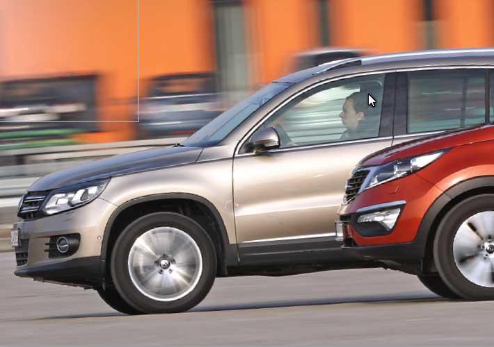 VW Tiguan vs Kia Sportage