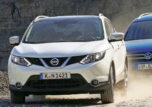 Tiguan vs Kia Sportage, Nissan Qashqai