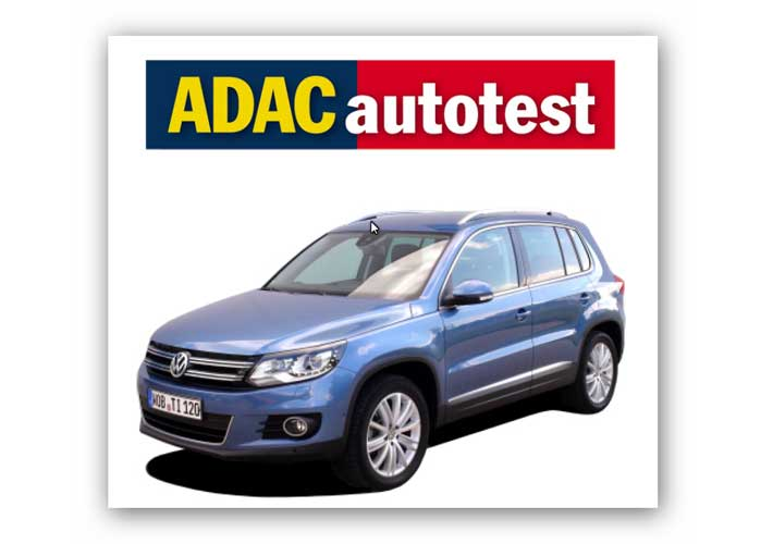VW Tiguan 2.0 TDI – ADAC Autotest