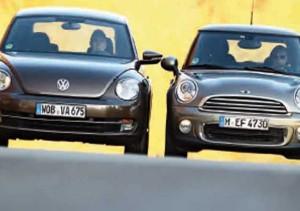 The Beetle – Σύγκριση Mini One vs VW Beetle 1.2TSI