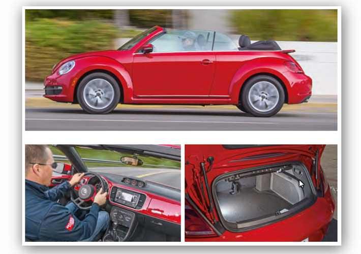 Δοκιμαστική οδήγηση: VW Beetle Cabriolet