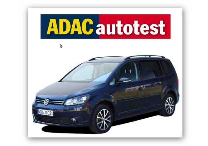 Touran 1.4 TSI Ecofuel – ADAC Autotest