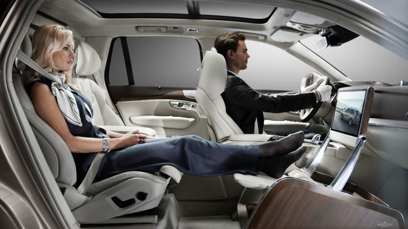 Volvo kicks back with Lounge Console concept in Shanghai [w/video]
