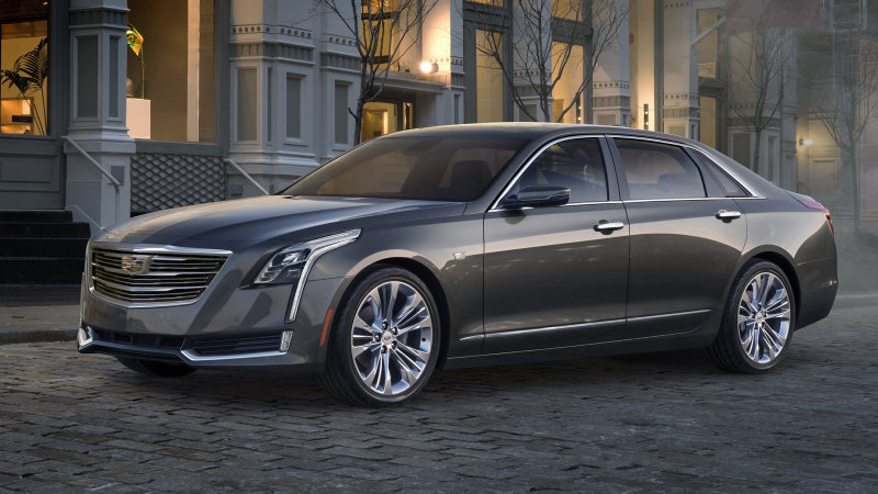 Cadillac CT6 gets a plug in Shanghai, will come to US