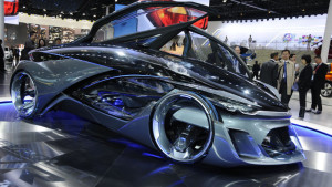 Chevrolet FNR is a sharp vision of the future in Shanghai