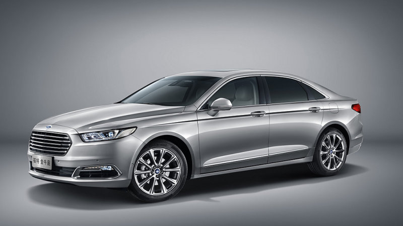 New upscale Ford Taurus revealed in Shanghai