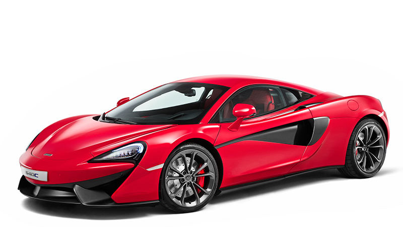 McLaren unveils the commuter-ready 540C in China