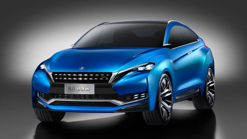 Nissan-Dongfeng JV reveals Venucia VOW concept in Shanghai