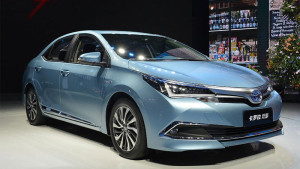 Toyota wants 30 percent of China sales to be hybrids