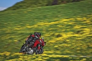 Ducati receives the Professor Ferdinand Porsche award for technological innovation on the Multistrada 1200 S D|air