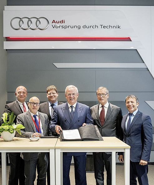 Volkswagen agrees Charter on Vocational Education and Training