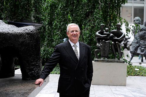 Prof. Dr. Martin Winterkorn accepts Honor from The Museum of Modern Art New York