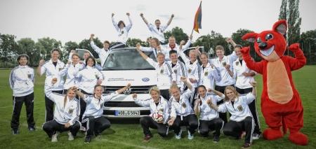Volkswagen unterstützt Fußball-EM der Gehörlosen.