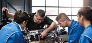 Mit Leidenschaft Zukunft gestalten. Berufsinformationstag bei Volkswagen Nutzfahrzeuge.