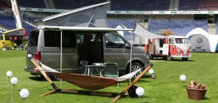 """Herzlich willkommen im """"Hotel Volkswagen California""""."""