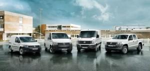 256.600 Stadtlieferwagen, Transporter und Pickups.