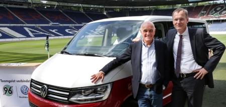 Teamgeist verbindet Volkswagen Nutzfahrzeuge und Hannover 96.
