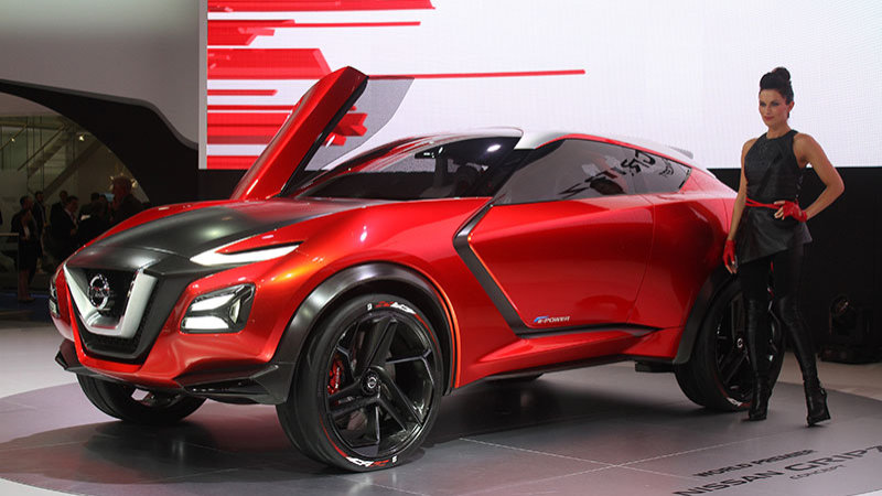 Nissan Gripz Concept foreshadows Z's dark future