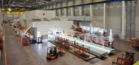 Neue 9100 Tonnen-Pressenlinie am Standort Hannover-Stöcken.