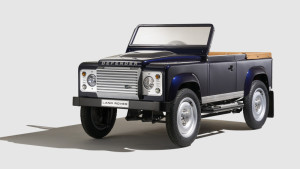 Land Rover Defender pedal car is for the kid with everything