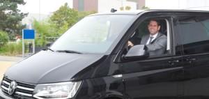 Neuer Dienstwagen für Olaf Lies.