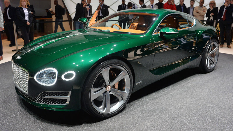 Bentley EXP 10 Speed 6 coming, but not before hotter CUV