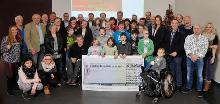 Herzenssache: 35.000 Euro Spende für Kinder in der Region.