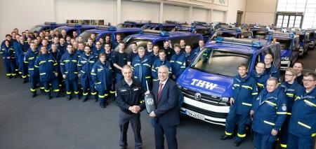 Neue Fahrzeuge für das Technische Hilfswerk.