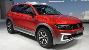 VW Tiguan GTE Active Concept looks ready for safari in Detroit