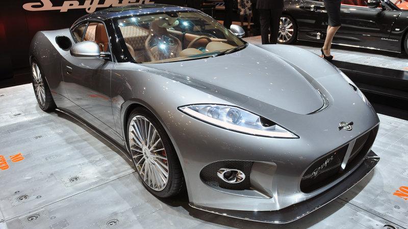Spyker may bring new concept to Geneva show