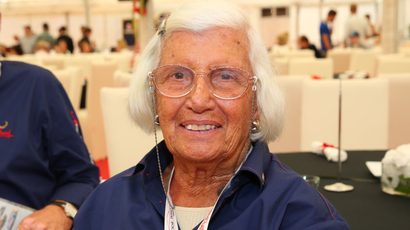 RIP Maria Teresa de Filippis, first lady of Formula One