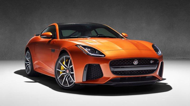 The 200-mph Jaguar F-Type SVR is coming to Geneva