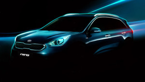 Kia Niro hybrid CUV teased again ahead of Chicago debut