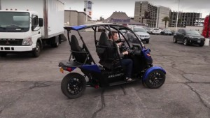 Recharge Wrap-up: Arcimoto SRK video, BAIC EV at CES