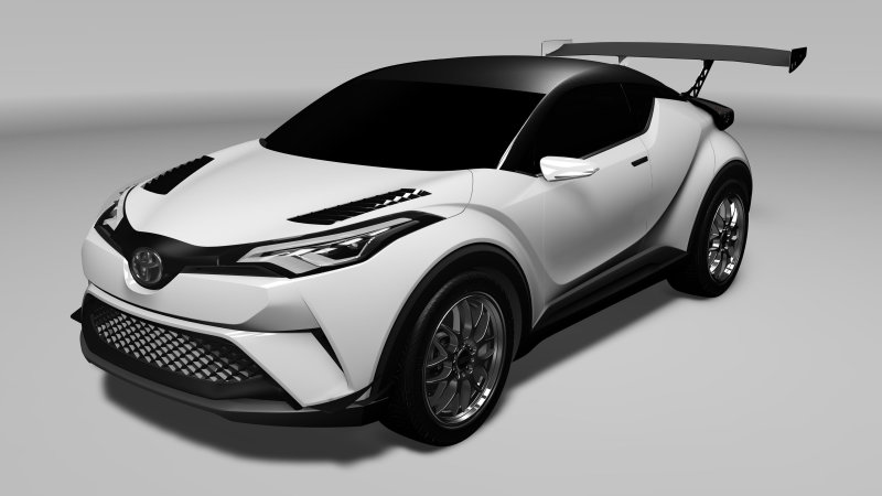 Toyota will race C-HR CUV in 2016 Nurburgring 24 Hours