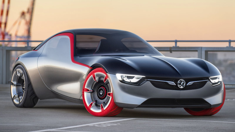 Opel bringing back-to-basics GT sport coupe concept to Geneva