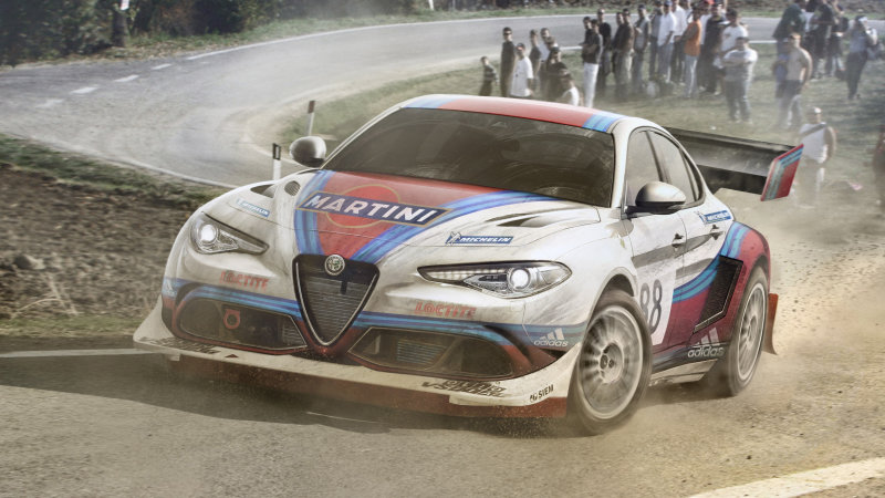The hottest modern sports cars rendered as rally racers
