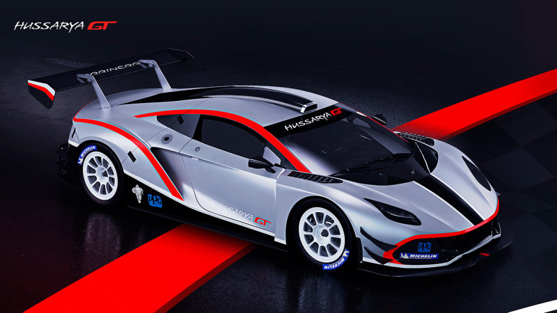 Polish supercar Arrinera Hussarya GT debuts in race form