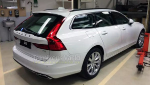 Volvo V90 wagon looking good in Swedish leak