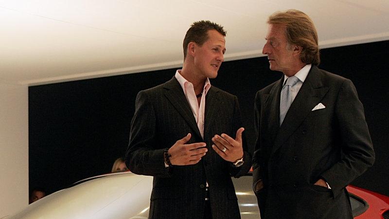 "Montezemolo says he has ""no good news"" on Schumacher"