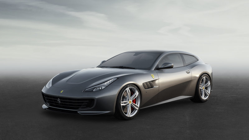 The Ferrari FF is now the GTC4 Lusso