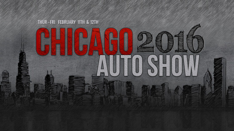 Your spotters guide to the 2016 Chicago Auto Show