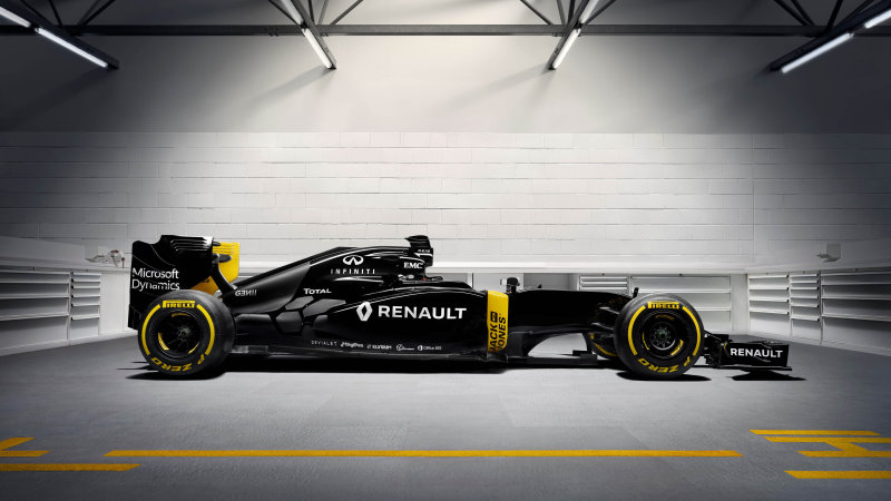 Renault reveals new racecar, driver lineup for F1 return