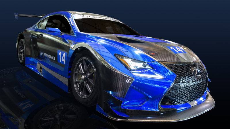 Lexus RC F GT3 will compete in IMSA SportsCar Championship