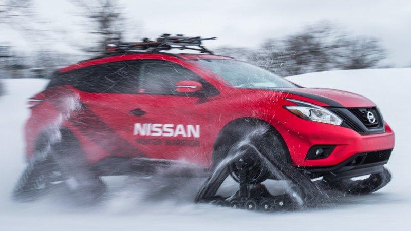 Nissan Winter Warrior concepts are ready for sub-zero school runs